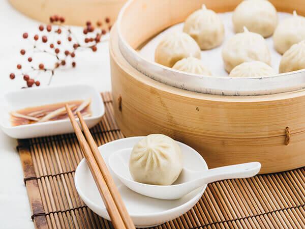 Machinery dumpling machine for xiao long bao, tang bao and soup dumpling
