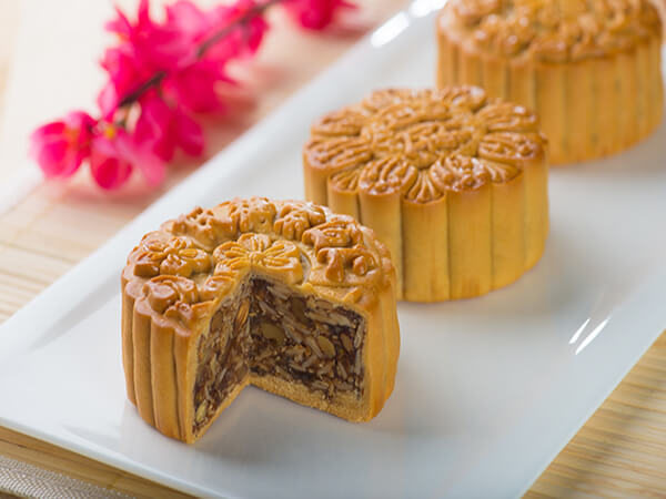 Five Kernels Mooncake