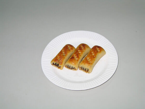 條狀包餡餅乾