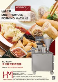 Machinery dumpling machine for samosa, pelmeni and ravioli