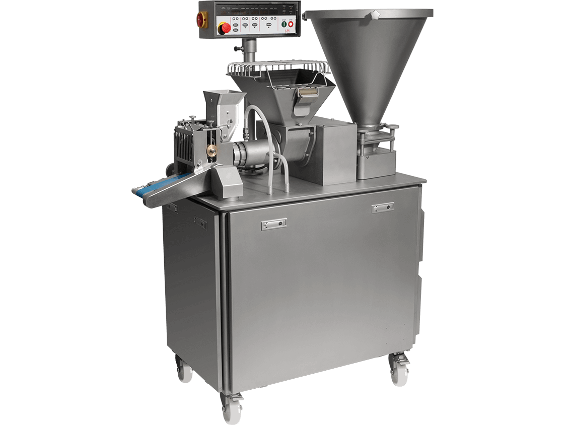 HM-777多功能充餡成型機 Hundred Machinery dumpling machine for samosa, pelmeni and ravioli