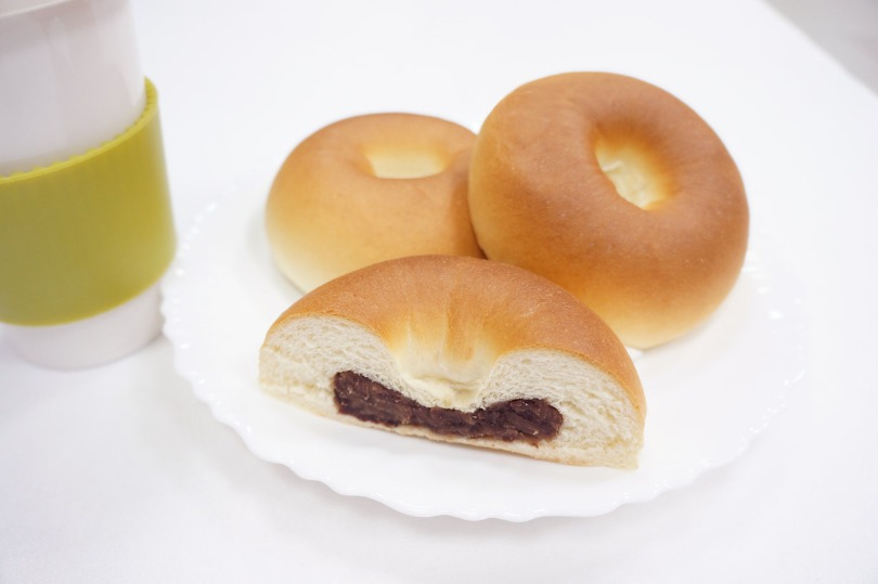 紅豆麵包 red bean bread machine anpan
