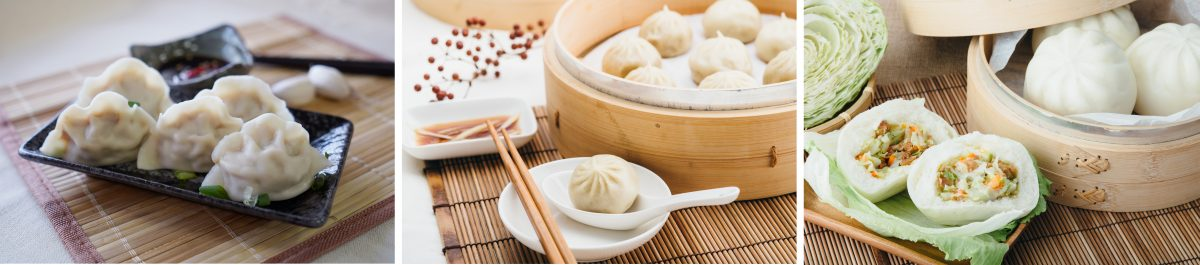 dumpling made by Hundred Machinery dumpling machine